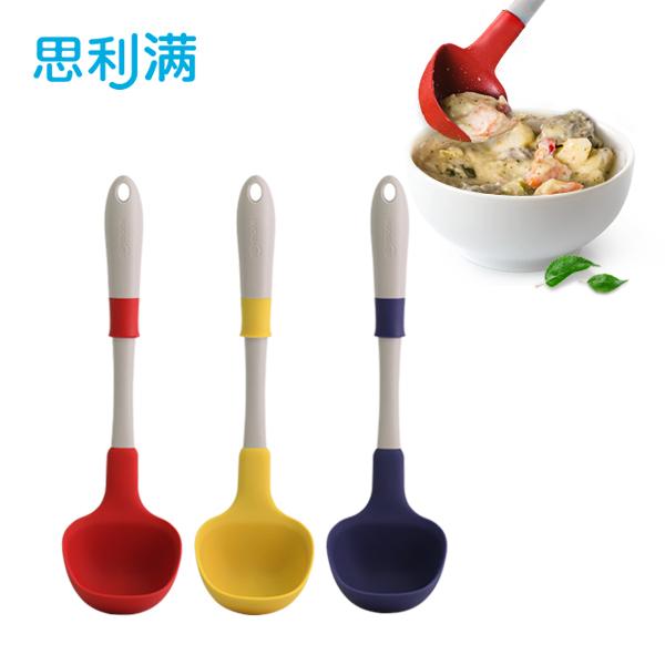 硅胶易握汤勺(大) WSK3334
