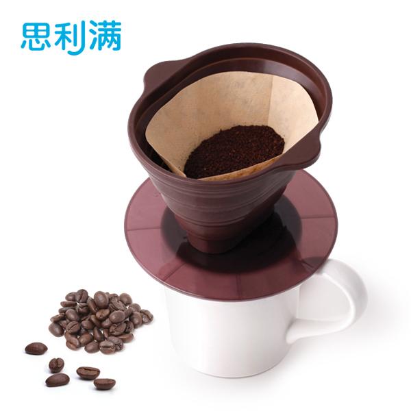 硅胶折叠咖啡过滤器 WSK418