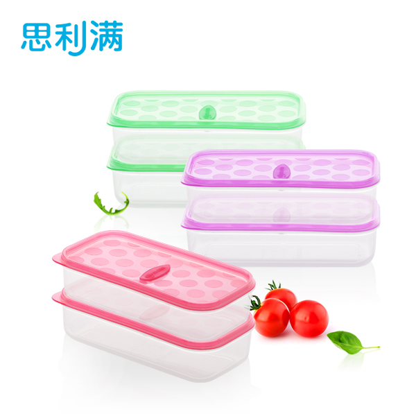 硅胶保鲜盒(长方形)270ml WSK770