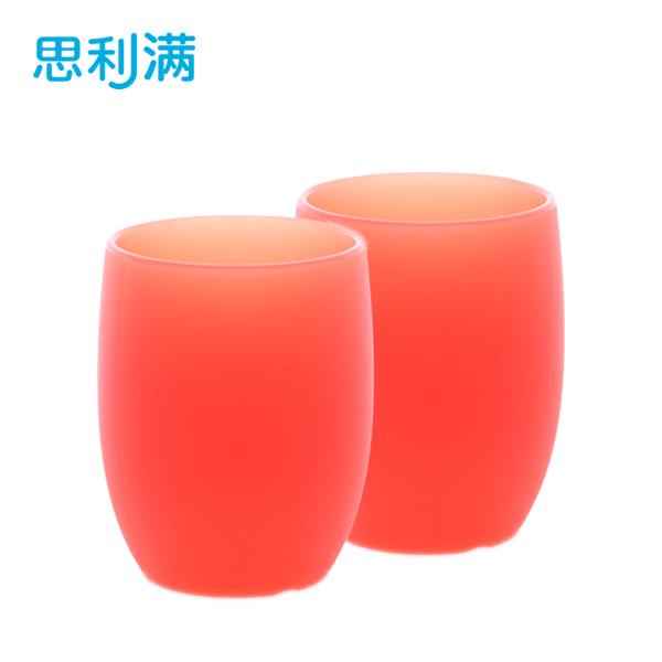 硅胶刷牙杯子2件 WSS303