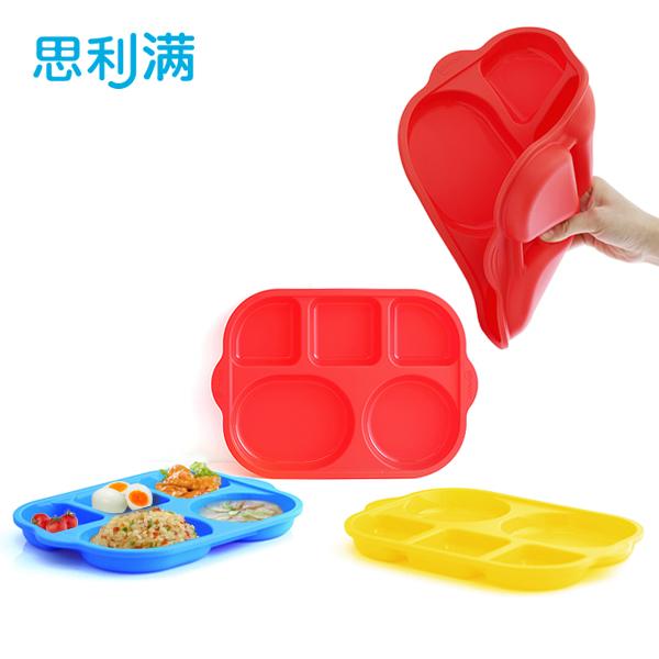 硅胶儿童餐盘(大号) WSB263