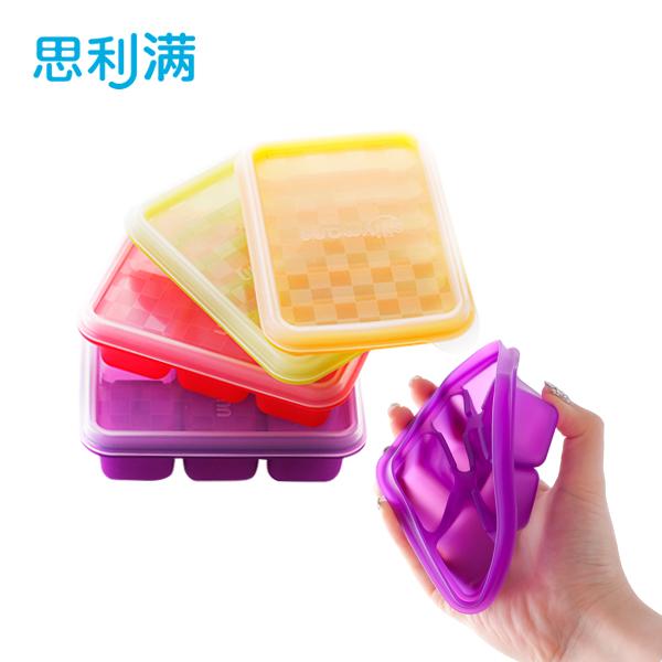 硅胶6格方形制冰格 WSK801