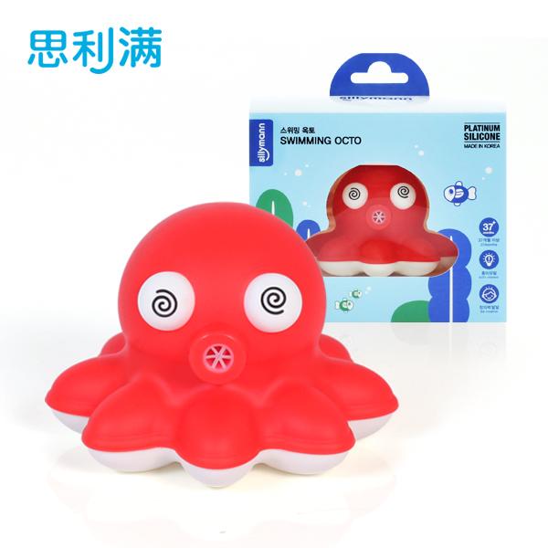 硅胶洗浴小章鱼玩具 WSB211