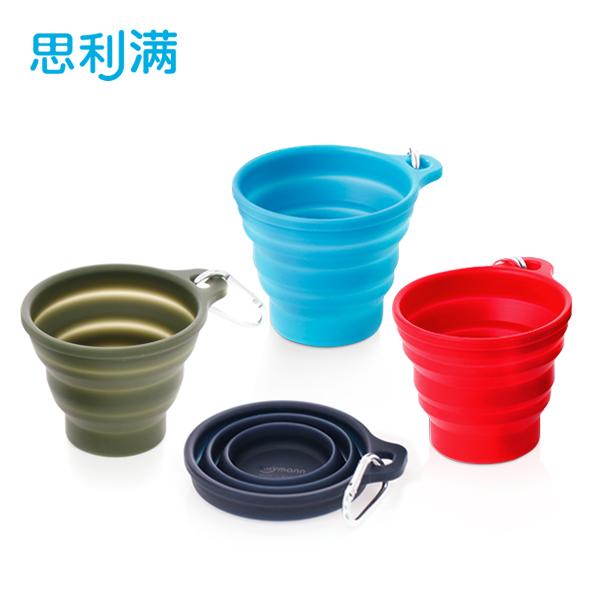 硅胶折叠杯子(230ml) WSK414