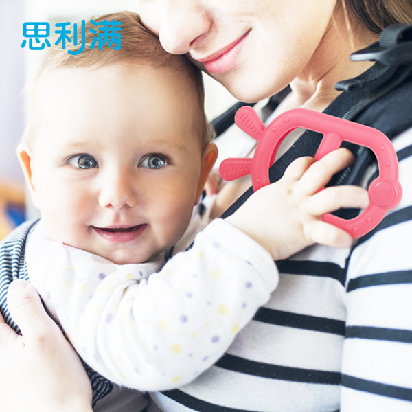 [思利满] 硅胶婴儿背带牙胶 WSB213