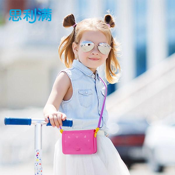 硅胶心形儿童包 WSA101