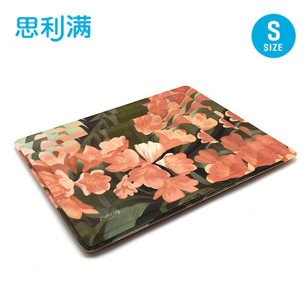 防滑纤维四方托盘(小) 君子兰 WPK5120