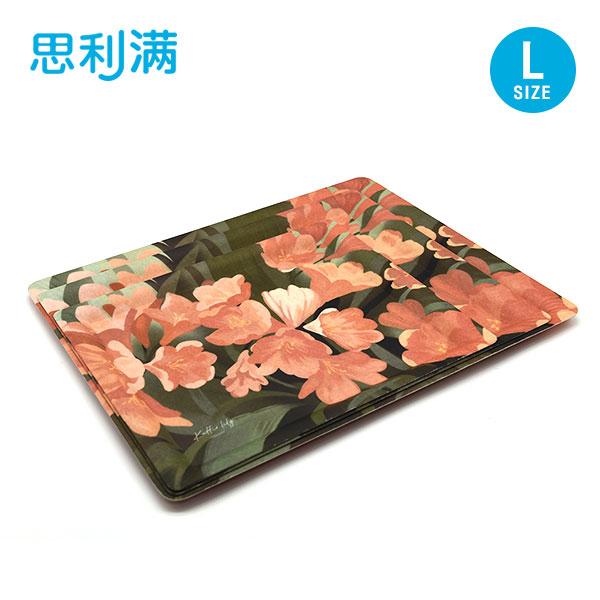 防滑纤维四方托盘(大) 君子兰 WPK5100