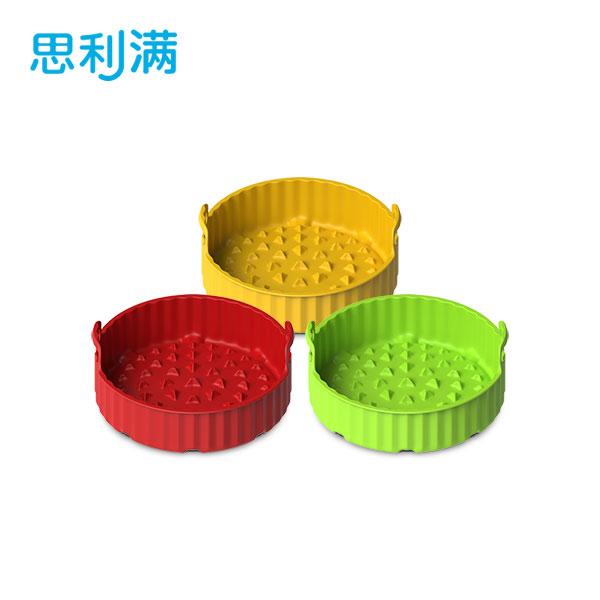 硅胶空气炸锅烘烤蓝(小) WSK4183