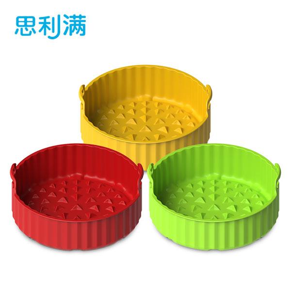 硅胶空气炸锅烘烤蓝(大) WSK4181