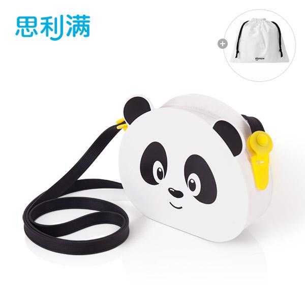 硅胶小熊猫儿童包包