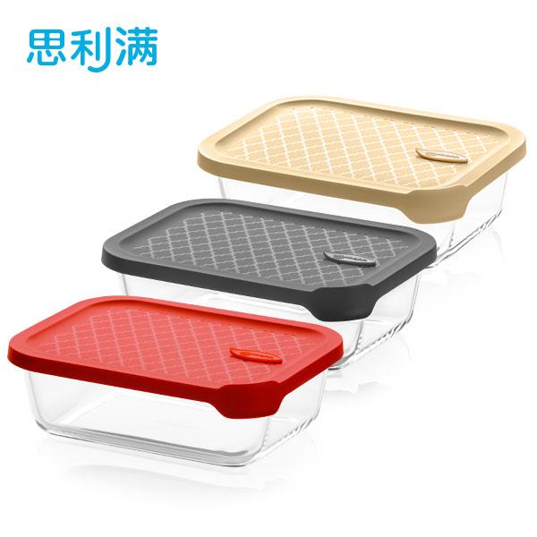 烤箱玻璃密封容器 1L (长方形) WGK5030