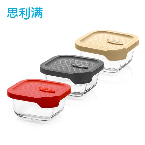 烤箱玻璃密封容器 300ml (正方形) WGK5040