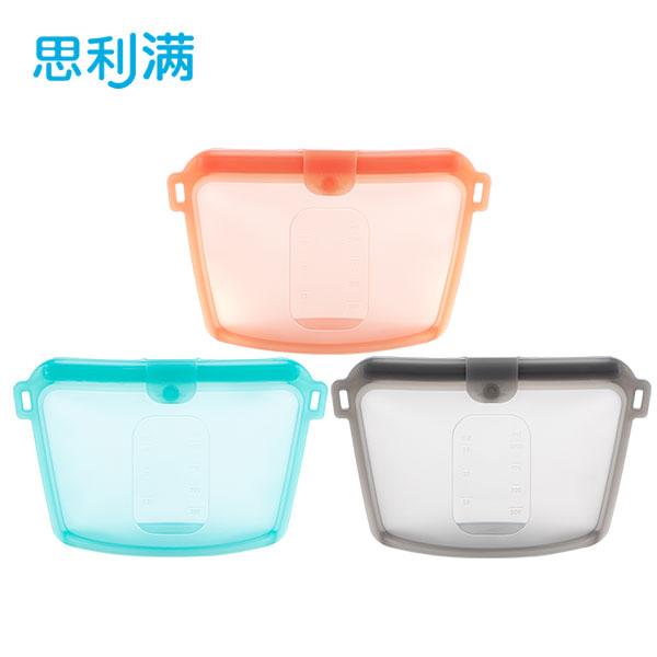 硅胶食物保鲜袋 1000ml WSK3195