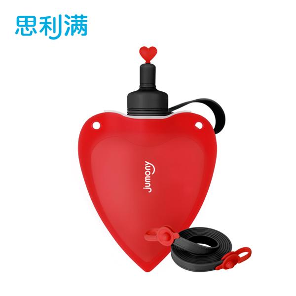 硅胶爱心朱莫妮(红)WSK424